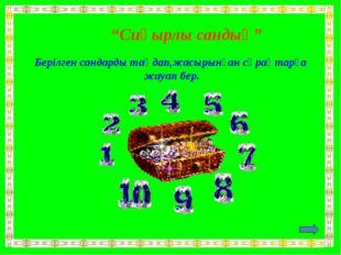 10.Астананың болашығын қалай елестетесің?