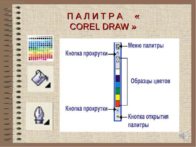 П А Л И Т Р А « COREL DRAW » Начальная школа