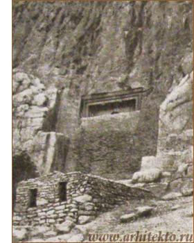 Скальная гробница Дукан-и-Дауд - www.Arhitekto.ru