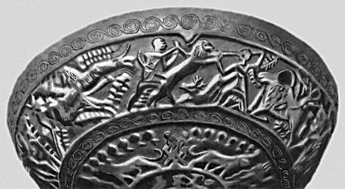 Чаша из Угарита. Золото. 14 в. до н. э. Музей. Халеб.