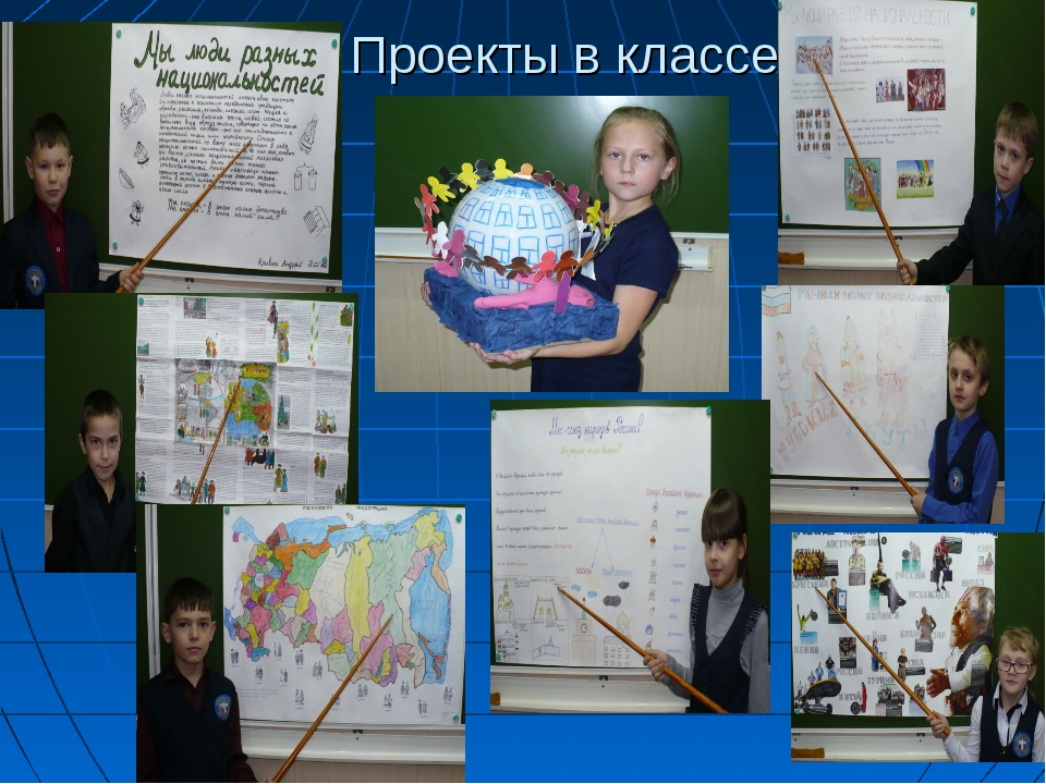 Проекты в классе