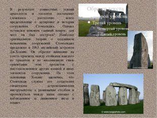 В результате совместных усилий археологов и геологов постепенно сложилось дос