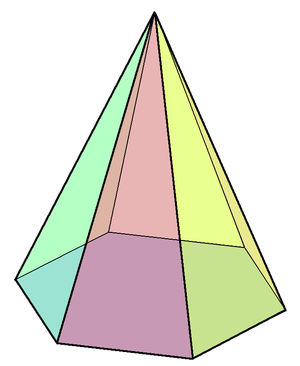 https://upload.wikimedia.org/wikipedia/commons/thumb/2/2a/Hexagonal_pyramid.png/300px-Hexagonal_pyramid.png