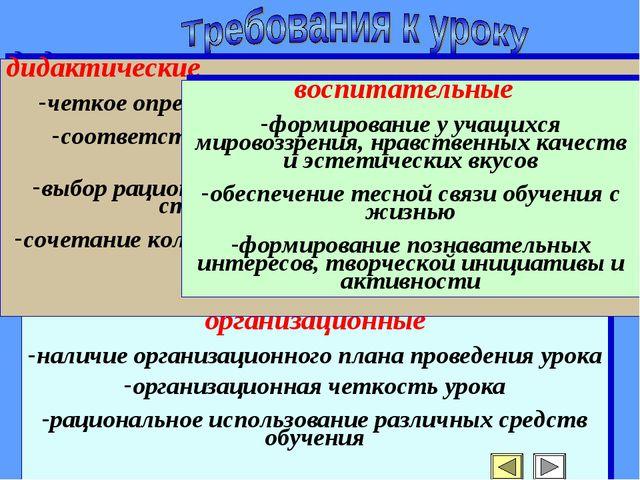 организационные наличие организационного плана проведения урока организационн...