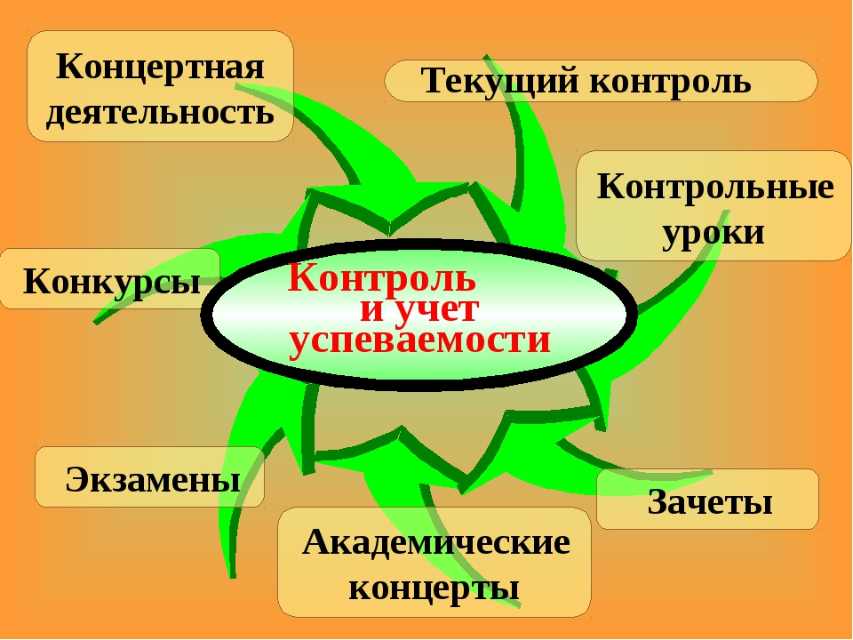 Концертная деятельность Контрольные уроки Зачеты Академические концерты Экзам...