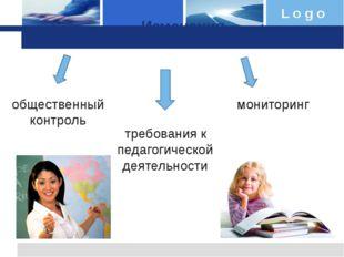 Изменения общественный контроль требования к педагогической деятельности мони