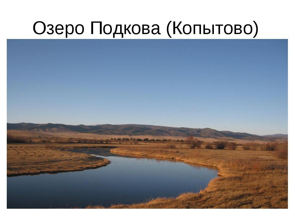 Озеро Подкова (Копытово)