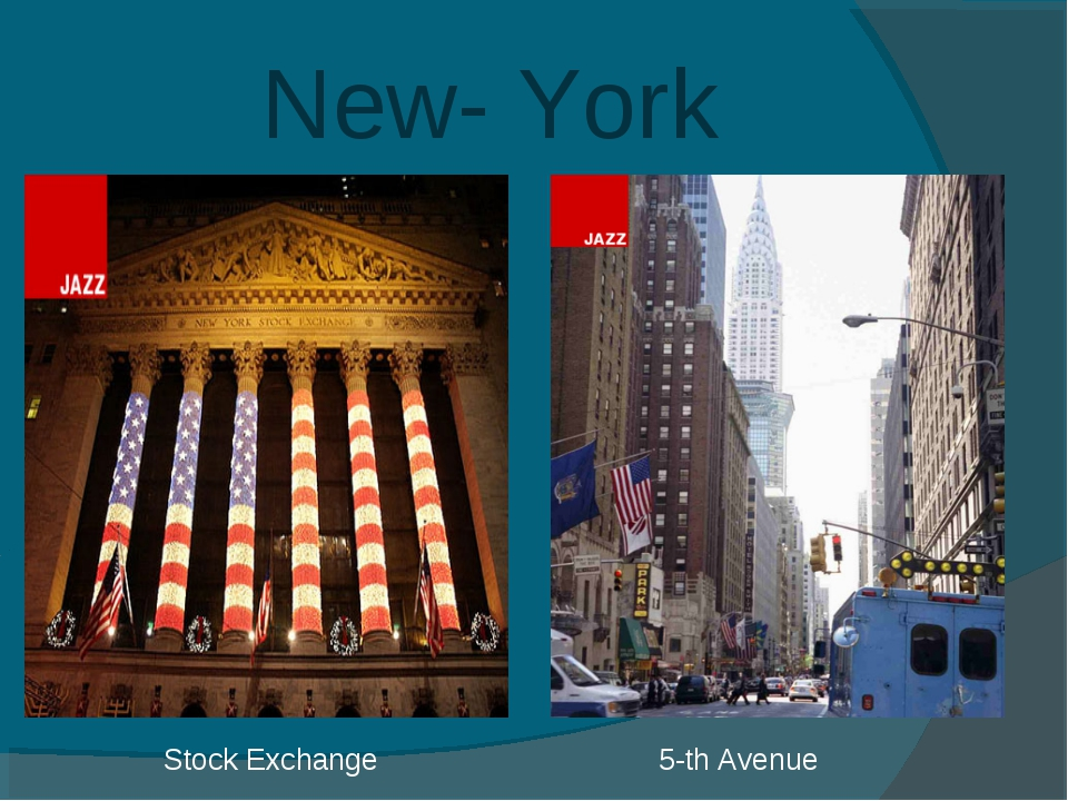 New- York Stock Exchange 5-th Avenue