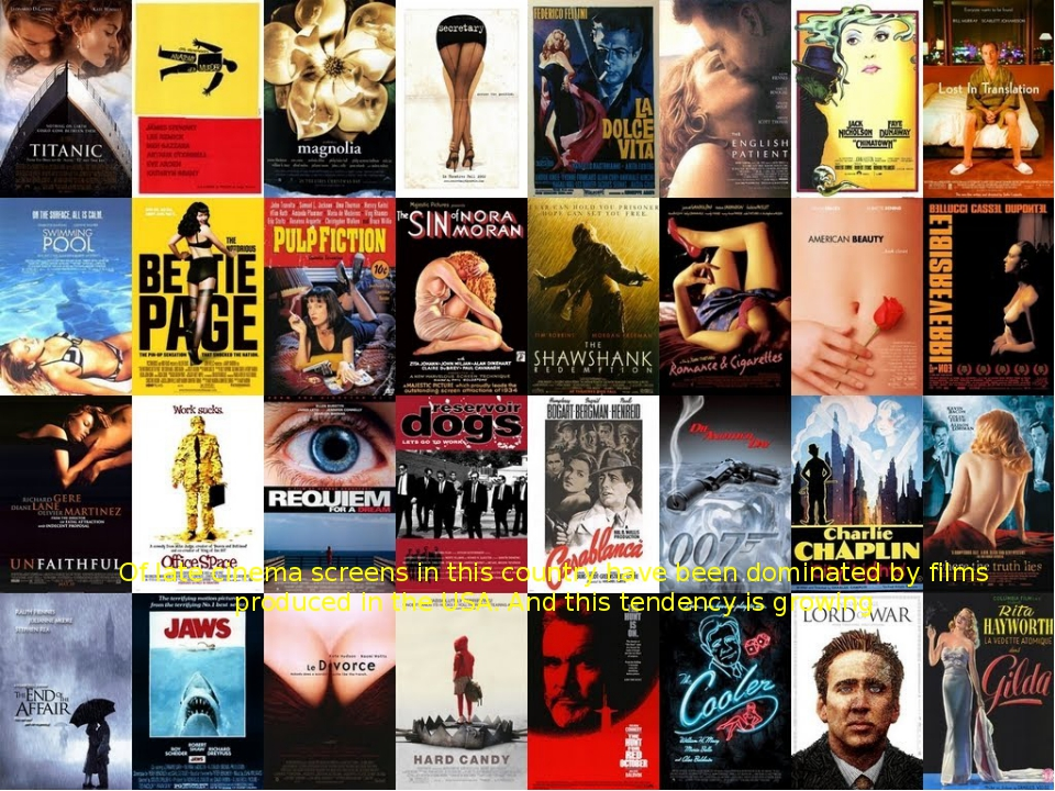 Of late cinema screens in this country have been dominated by films produced...