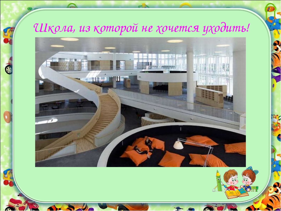 Школа будущего презентация с картинками