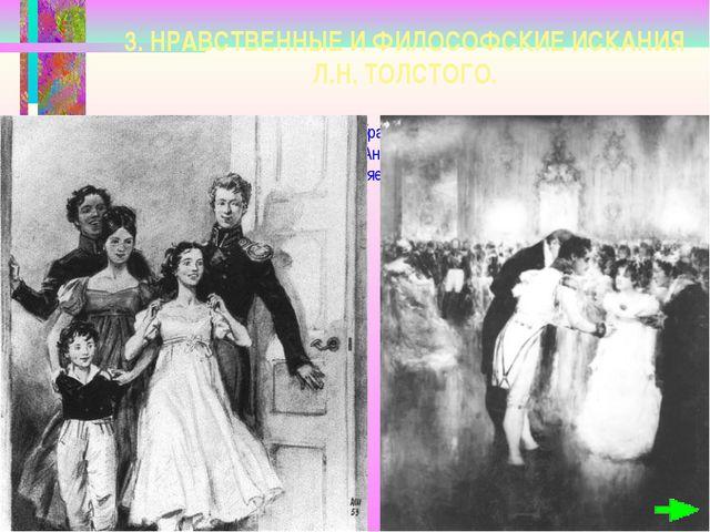 3. НРАВСТВЕННЫЕ И ФИЛОСОФСКИЕ ИСКАНИЯ Л.Н. ТОЛСТОГО. Толстой начинает свой р...