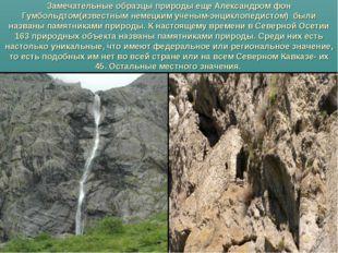 Замечательные образцы природы еще Александром фон Гумбольдтом(известным неме