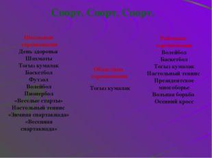 Наша гордость Шахматы 1. Жалгаспаев Н( 3место в район.сорев.) Тогыз кумалак 1
