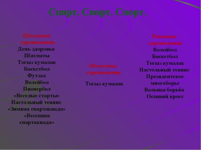 Наша гордость Шахматы 1. Жалгаспаев Н( 3место в район.сорев.) Тогыз кумалак 1...