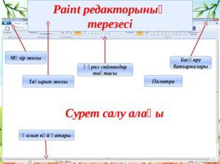 Paint редакторының сурет салу құралдары Палитра Фигуралар Белгілеу