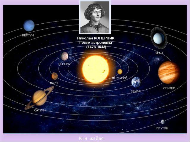 Күн жүйесі Николай КОПЕРНИК поляк астрономы (1473-1543)
