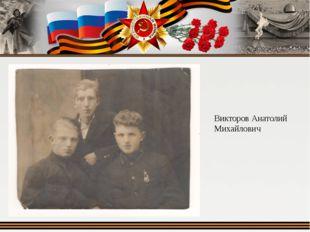 Викторов Анатолий Михайлович