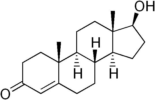 Структура тестостерона.png