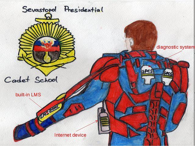 built-in LMS diagnostic system Internet device
