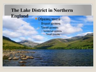The Lake District in Northern England