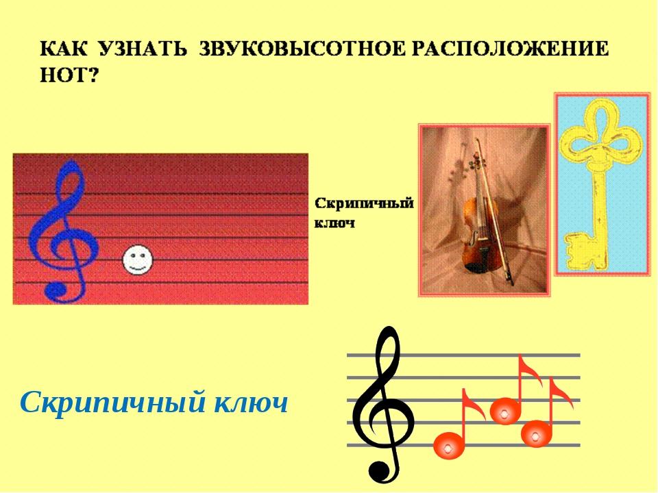 Скрипичный ключ