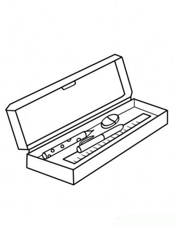 Что в портфеле? - раскраски МамаЛадушка