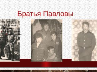 Братья Павловы