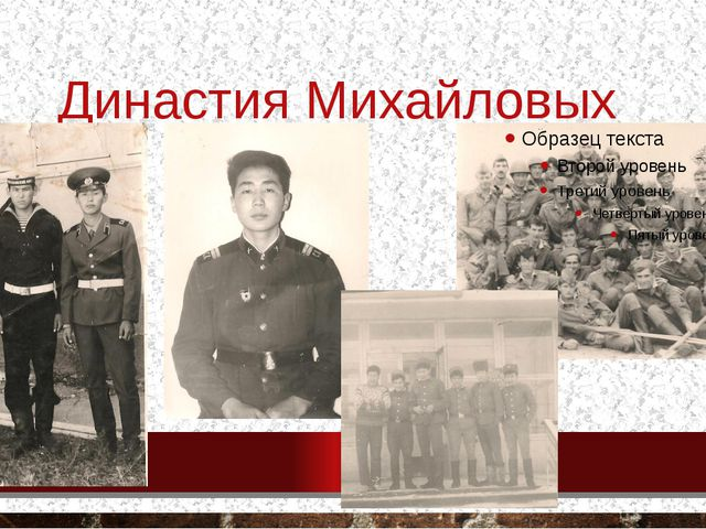 Династия Михайловых