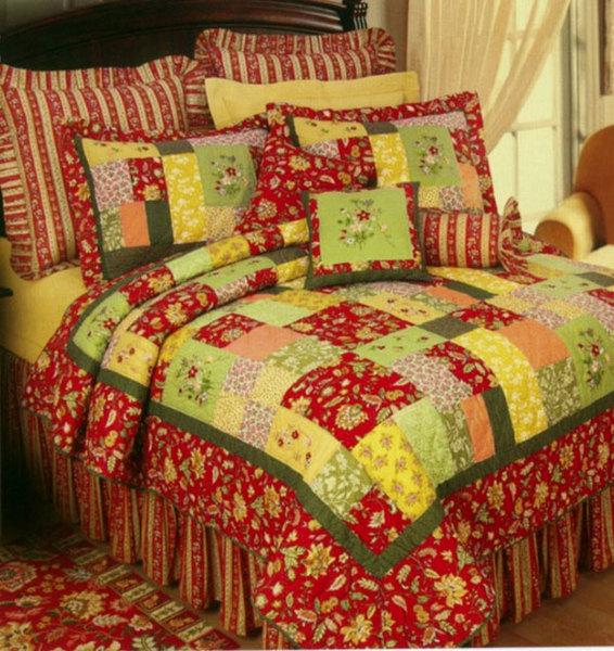 Лоскутные покрывала и подушки - идеи. Обсуждение на Дневники на КП