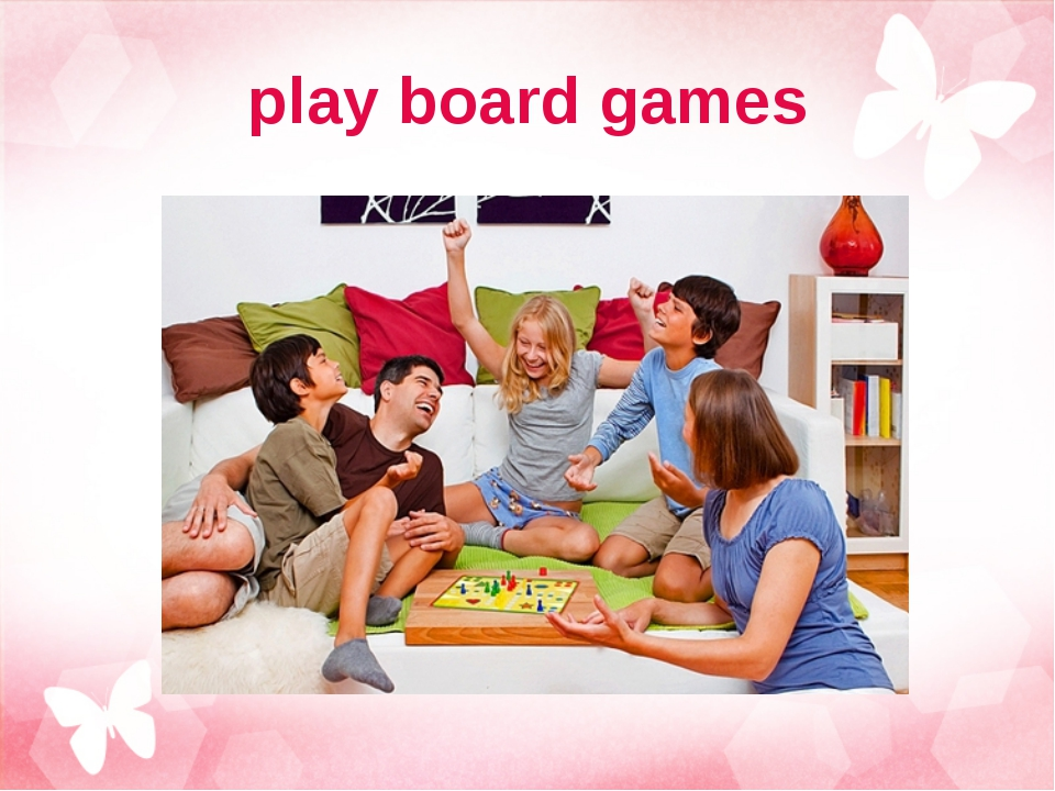 play board games
