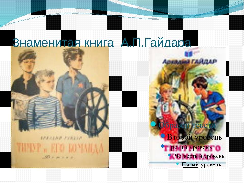 Знаменитая книга А.П.Гайдара