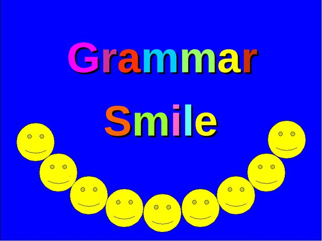 Grammar Smile