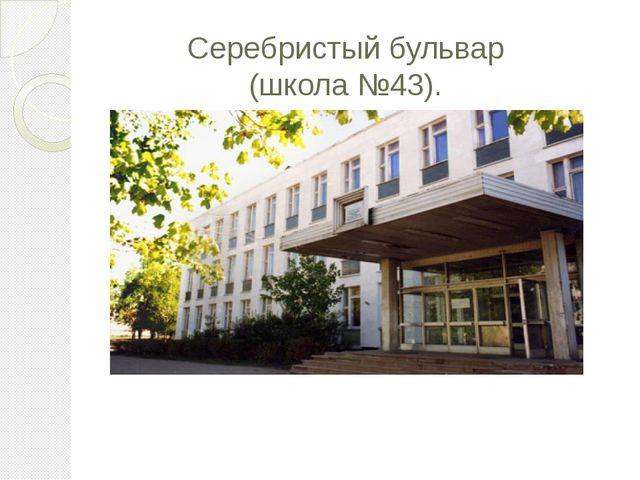 Серебристый бульвар (школа №43).