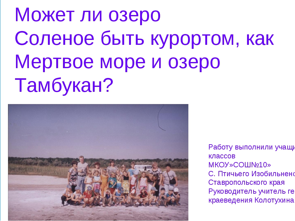 Работу выполнили учащиеся 8 классов МКОУ»СОШ№10» С. Птичьего Изобильненского...