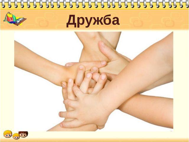 Дружба Вы правы. Сегодня речь у нас пойдет о дружбе между людьми, о том, кого...