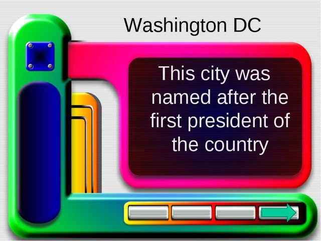 This city was named after the first president of the country Washington DC