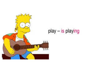 play – is playing