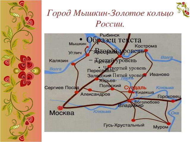 Город Мышкин-Золотое кольцо России.
