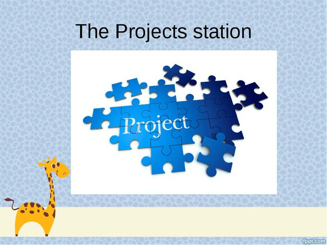 The Projects station
