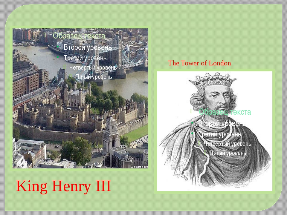 The Tower of London King Henry III