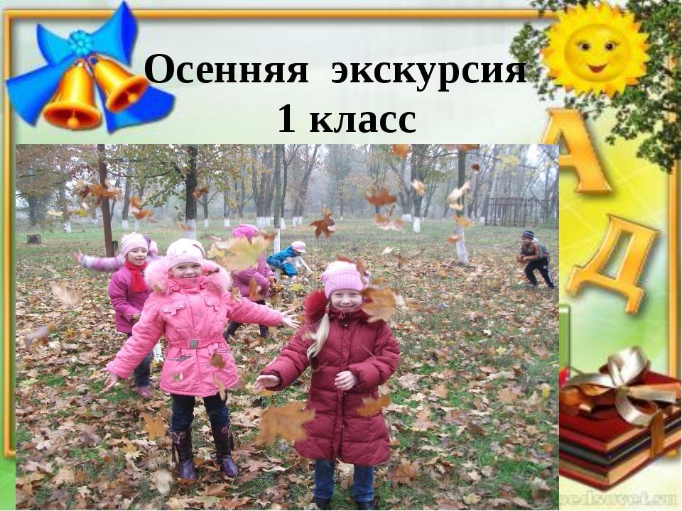 Осенняя экскурсия 1 класс