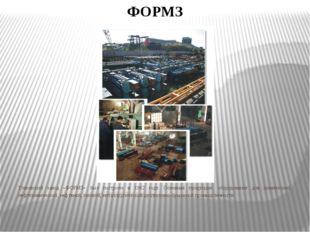 ФОРМЗ Глазовский завод «ФОРМЗ» был построен в 1982 году. Основная продукция: