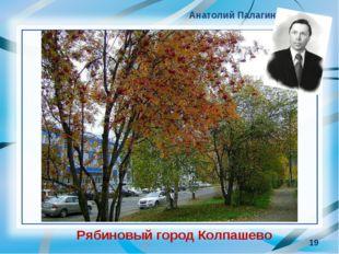 * Анатолий Палагин Рябиновый город Колпашево