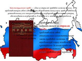 Конституционное право—одна из отраслей правовой системы России, представляю