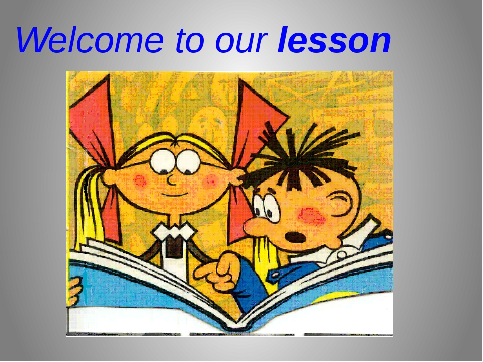Welcome to our lesson