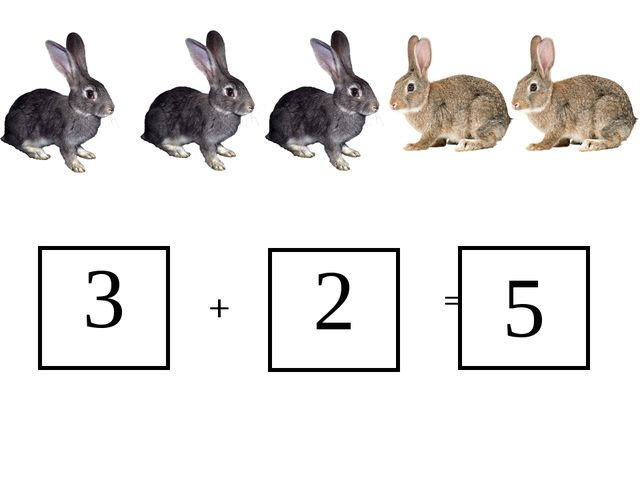 3 2 + = 5