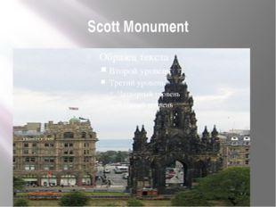 Scott Monument