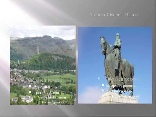 Stirling Statue of Robert Bruce