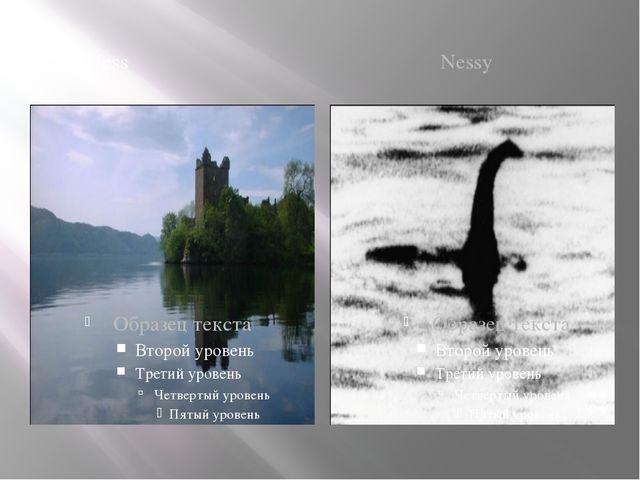 Loch Ness Nessy