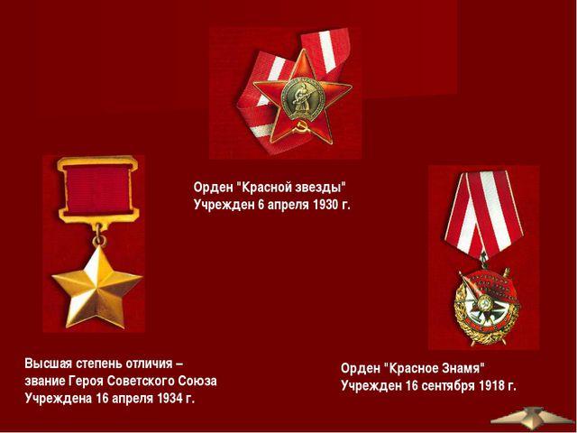 """Орден """"Красное Знамя"""" Учрежден 16 сентября 1918 г. Орден """"Красной звезды"""" Учр..."""